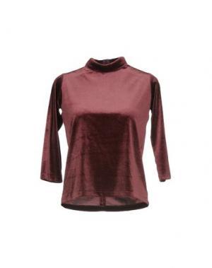 Блузка GUTTHA. Цвет: пурпурный