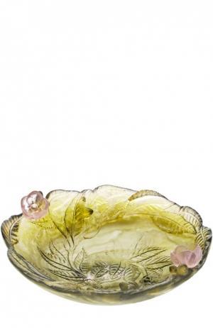 Ваза для фруктов Cherry blossom Daum. Цвет: бесцветный