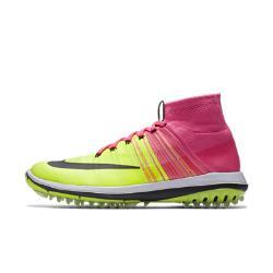 Мужские кроссовки для гольфа  Flyknit Elite Nike. Цвет: розовый