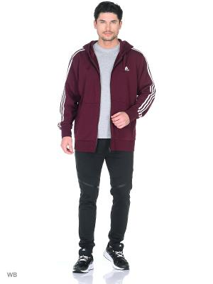 Толстовка Adidas. Цвет: фиолетовый