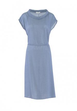 Платье Петербургский стиль. Цвет: голубой