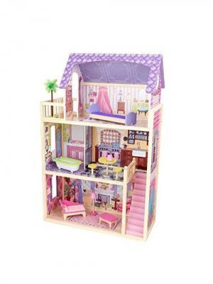 Домик для кукол Кайла KidKraft. Цвет: сиреневый, розовый