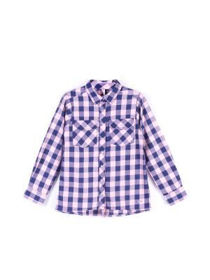 Рубашка Coccodrillo. Цвет: темно-синий