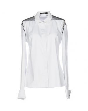 Pубашка MARIOS SCHWAB. Цвет: белый