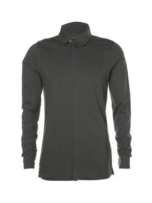 Рубашка Kangra. Цвет: серый