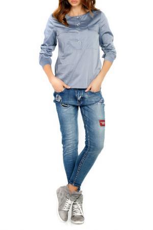 Рубашка LOU-LOU. Цвет: grey