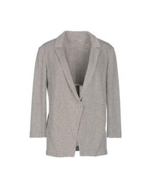 Пиджак BARBON. Цвет: серый