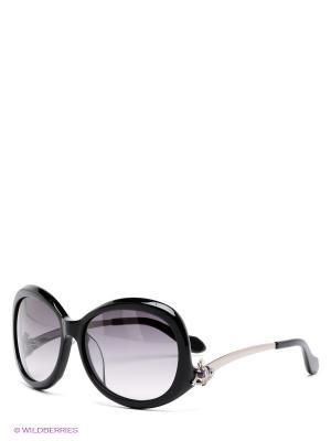 Солнцезащитные очки Vivienne Westwood. Цвет: черный, серебристый