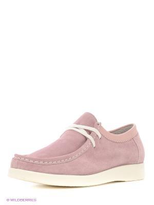 Мокасины Sekada. Цвет: розовый