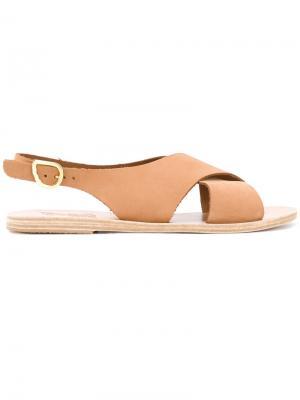 Сандалии Maria Ancient Greek Sandals. Цвет: телесный