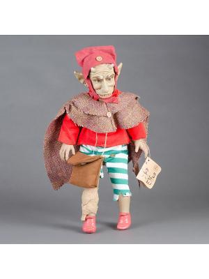 Кукла Horned God-плодородие, помощь бездетным Lamagik S.L. Цвет: зеленый, коричневый, бежевый, красный