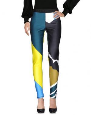 Повседневные брюки KENZO. Цвет: цвет морской волны