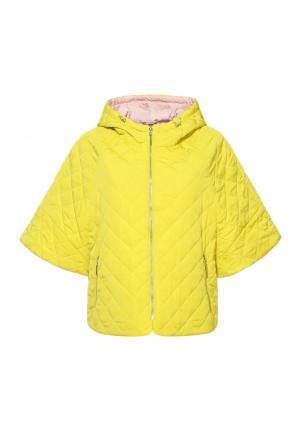 Куртка Московская меховая компания. Цвет: желтый