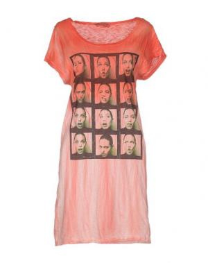 Короткое платье ATHLETIC VINTAGE. Цвет: красный