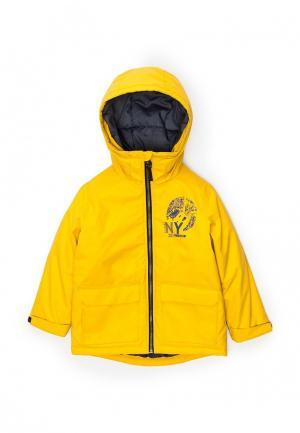 Куртка утепленная Acoola. Цвет: желтый
