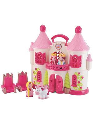 Сказочный замок с персонажами ELC. Цвет: розовый