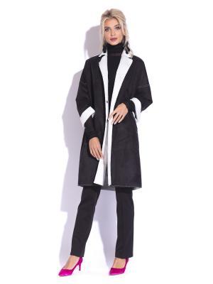 Пальто GRACE. Цвет: черный