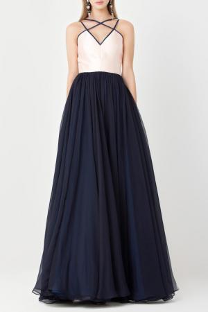 Платье Isabel Garcia. Цвет: pink and navy
