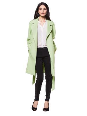 Пальто APART. Цвет: салатовый