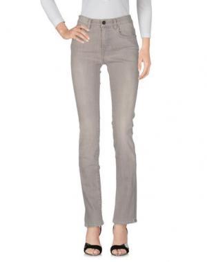 Джинсовые брюки PROENZA SCHOULER. Цвет: светло-серый