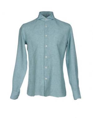 Pубашка DOMENICO TAGLIENTE. Цвет: зеленый