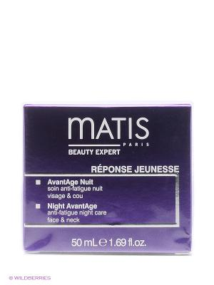 Блеск Молодости Ночной крем предотвращающий старение кожи 50 мл Matis. Цвет: прозрачный
