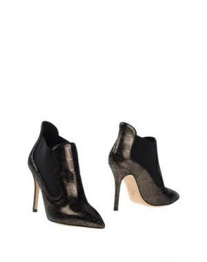 Ботинки SEMILLA. Цвет: стальной серый