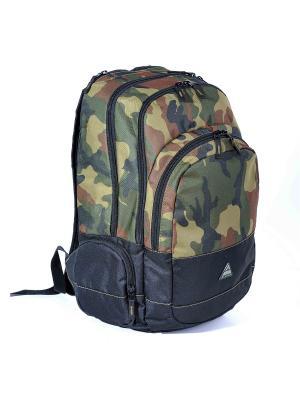 Рюкзак ALPICA. Цвет: черный, темно-зеленый, темно-коричневый, хаки