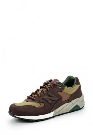 Кроссовки New Balance. Цвет: коричневый