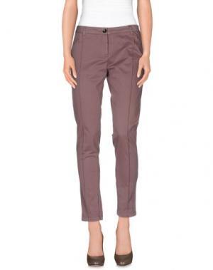 Повседневные брюки CONTE OF FLORENCE. Цвет: светло-коричневый