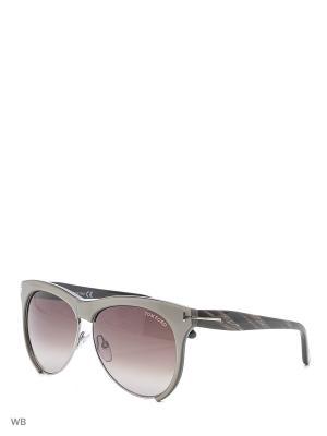 Солнцезащитные очки FT 0365 38B Tom Ford. Цвет: серый