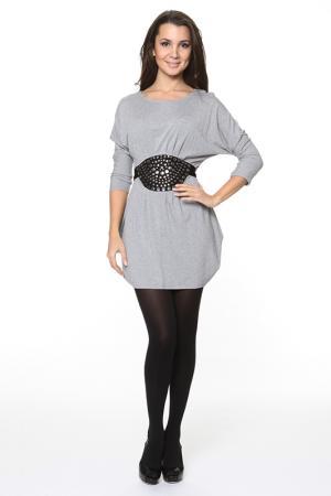 Платье-туника Piamente. Цвет: серый