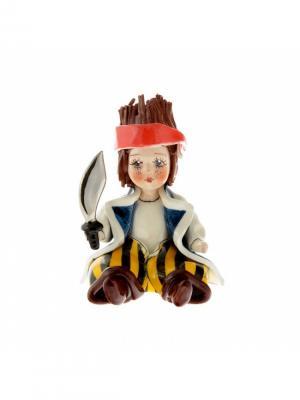 Статуэтка Мальчик-пират Zampiva. Цвет: красный, белый, черный