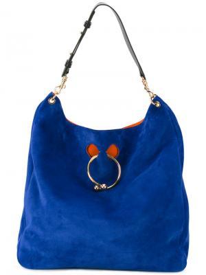Большая сумка Pierce JW Anderson. Цвет: синий