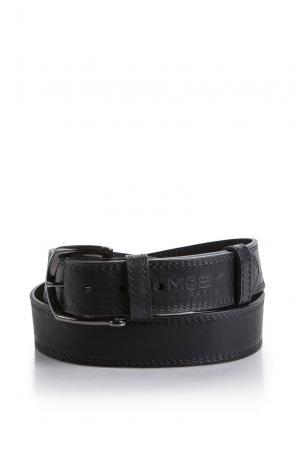 Ремень 176906 Mosko Jeans. Цвет: черный