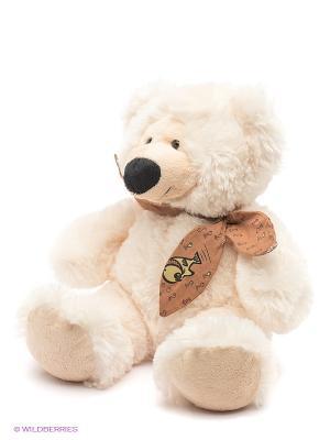 Медведь Артемка PLUSH APPLE. Цвет: молочный