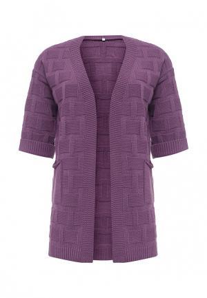 Кардиган Milana Style. Цвет: фиолетовый