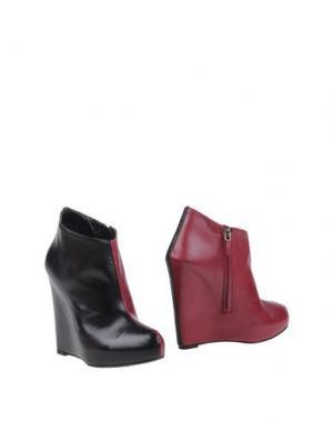 Полусапоги и высокие ботинки CHARLINE DE LUCA. Цвет: пурпурный
