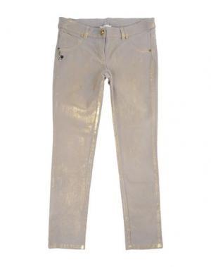 Джинсовые брюки MISS GRANT. Цвет: светло-серый