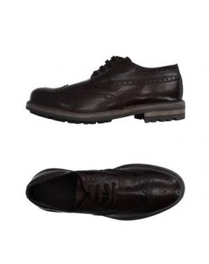 Обувь на шнурках GOLD BROTHERS. Цвет: темно-коричневый