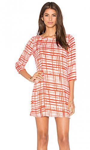 Платье cordela BB Dakota. Цвет: красный
