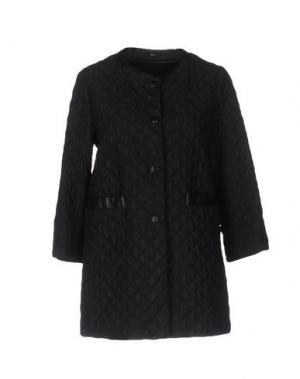 Легкое пальто MABRUN. Цвет: черный
