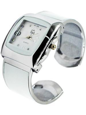 Часы Taya. Цвет: серебристый, белый