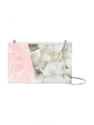 Клатч из раковин Tilda Hammer Nathalie Trad. Цвет: розовый и фиолетовый