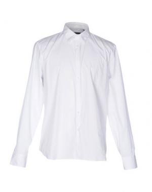 Pубашка MANUEL RITZ. Цвет: белый