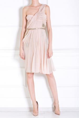 Шелковое платье J. Mendel. Цвет: none