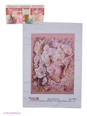 Набор для вышивания Изысканность Матренин Посад. Цвет: темно-бежевый, розовый, сиреневый