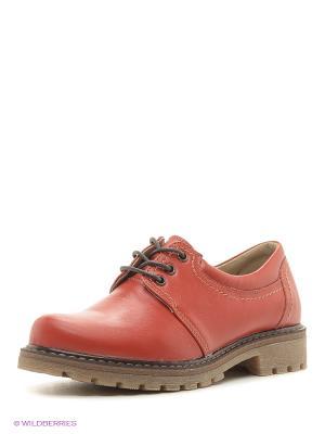 Ботинки Walrus. Цвет: красный