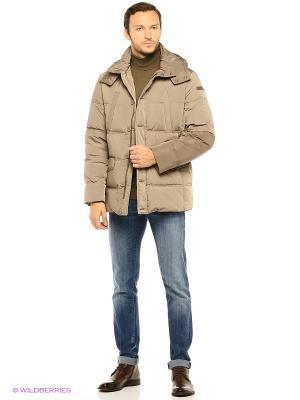 Куртка Trussardi. Цвет: бежевый