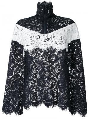 Куртка с контрастными вставками Goen.J. Цвет: чёрный